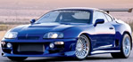 Toyota - Supra - check out the width on those rear tires