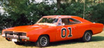 Cars from TV, and Movies - The General Lee Dodge Charger