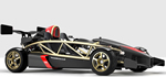 Ariel Atom - •0-60 in 2.9 seconds right front angle view