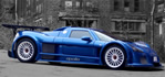 Gumpert Apollo - The Apollo is a 2,400 lb to 2,600 lb (depending on options), street-legal race car.