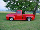 1953 Ford pick up F-100 on Cool Ass Cars, very sharp truck